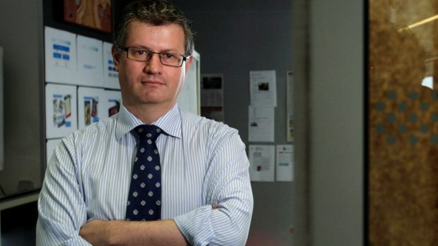 Andrew Hagger, group executive of NAB Wealth.