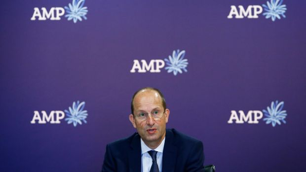Australia's AMP Ltd's half-year profit up 4 pct, beats forecast