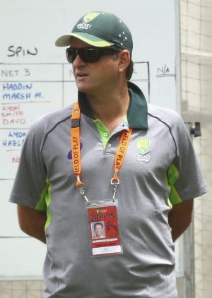 Australian selector Mark Waugh.