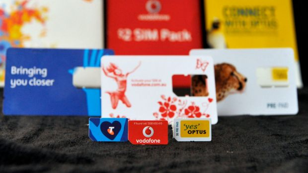 'There are … 3 major telecom numbers details I can provide you. Telstra, Vodafone and Optus'.