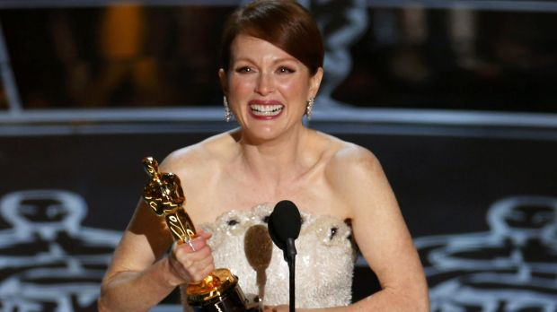 Julianne Moore won best actress for <i>Still Alice</i> last year.