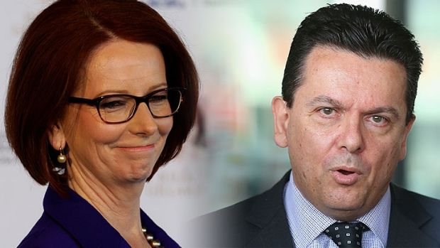 """I just wish the defamatory material was never published in the first place,"" Nick Xenophon said of the allegations in ..."