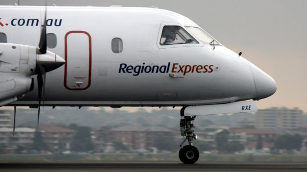 Regional Express has argued for better access to Sydney Airport.