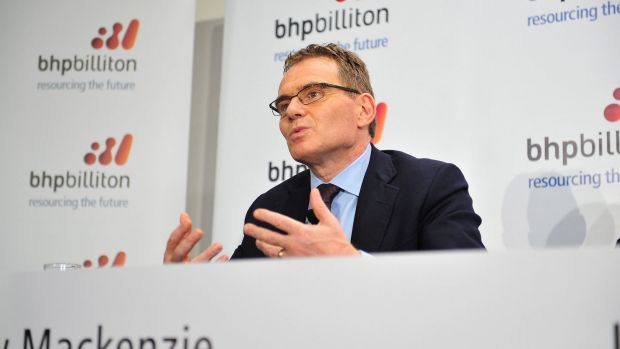BHP CEO Andrew Mackenzie said the company is now focused on 'best in class' assets.