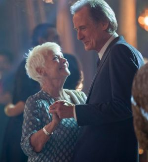 Judi Dench and Bill Nighy in <i>The Second Best Exotic Marigold Hotel</i>.