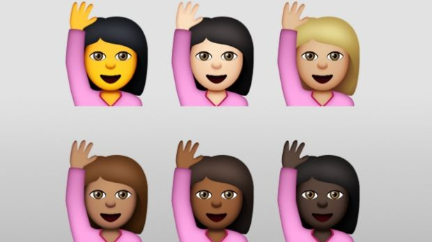 iOS 8.3: Apple's new diverse emoji are finally here.