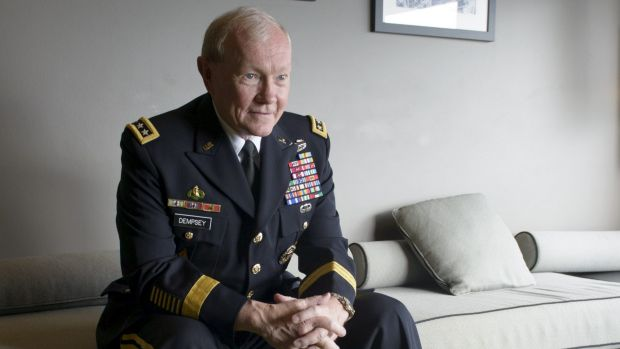 Chairman of the Joint Chiefs of Staff: General Martin Dempsey.