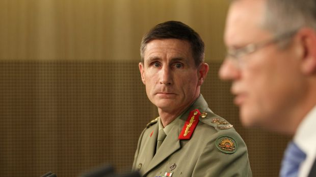 Lieutenant General Angus Campbell will become Australia's next Chief of Army.