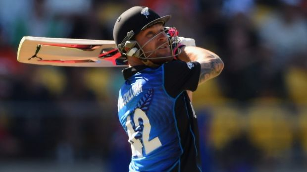Super bat:  New Zealand skipper Brendon McCullum has been in dazzling form over the past 12 months.