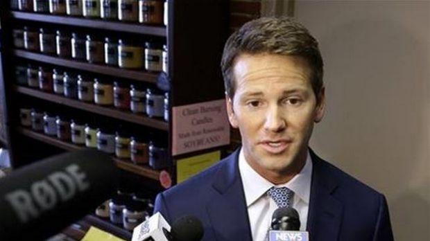 """Haters are gonna hate,"" Aaron Schock, 33, told ABC News after news of his office's lavish decor - which is inspired by ..."