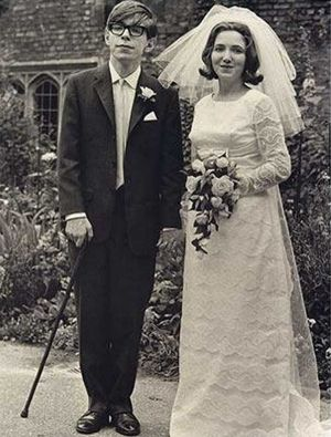 Stephen Hawking with Jane Wilde Hawking, who he married in 1965 after his diagnosis with ALS. A new biopic is based on ...
