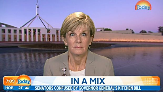 Icon: Julie Bishop.