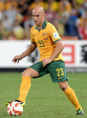 Retired: Mark Bresciano played 84 senior matches for the Socceroos, including three World Cups.