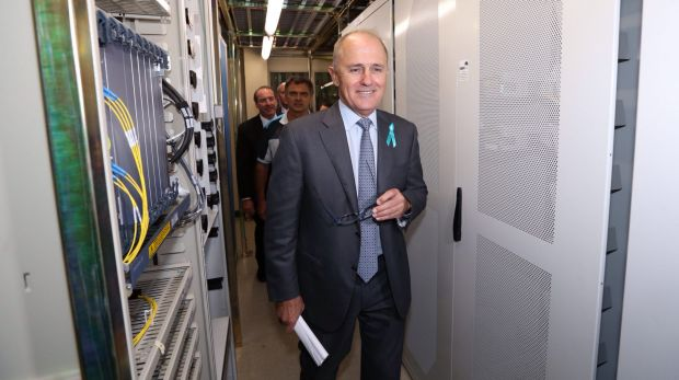 Malcolm Turnbull said the Optus cables would allow the government to deliver a cheaper NBN more quickly.