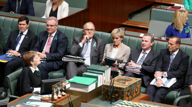 """Malcolm Turnbull has effortlessly emerged to point to a way he described as the """"sensible centre"""" of Australian politics."""