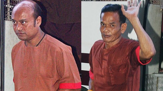 The death penalties for Somchok Suthiwiriwan and Sompong Buasakul have been reversed.
