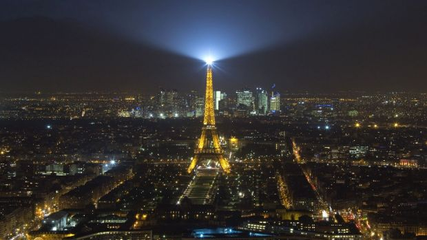 The unidentified drones were seen near the Eiffel Tower and La Defense business district.