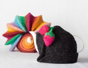 In <i>Portraits of a Tea Cosy</i>:   Loani Prior, <i>All Form and No Function</i> and <i>That Hat</i>.