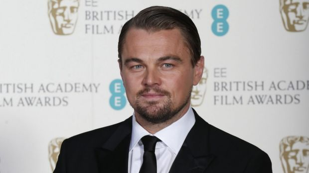 Actor Leonardo DiCaprio poses for a photograph at the British Academy of Film and Arts (BAFTA) awards ceremony at the ...