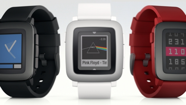 Pebble goes back to kickstarter with Pebble Time smartwatch