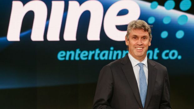 Tony Abbott will meet with free-to-air CEOs on Thursday, including Nine Network's David Gyngell (pictured), Seven ...