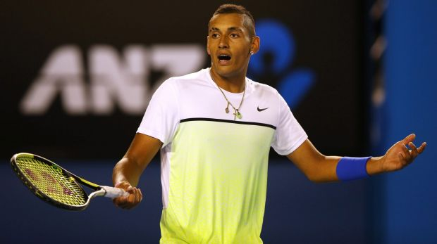 Nick Kyrgios said he was totally gutted to have to pull out of Australia's Davis Cup tie.