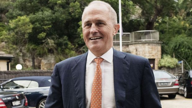Malcolm Turnbull says the focus should be on Mike Baird.