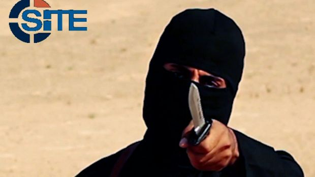 'Can you imagine the pain you'll feel when it cuts? Unimaginable pain' ... 'Jihadi John' - otherwise known as Briton ...