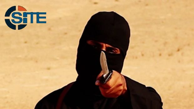 This masked, black-clad militant has been identified as Mohammed Emwazi.