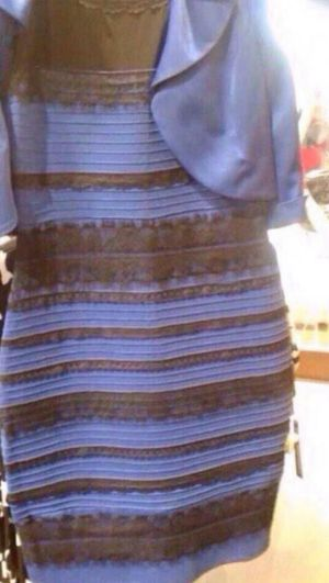 The dress that divided the internet: Repurposed for a powerful campaign.