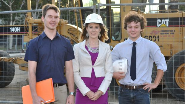Mattison Rose, Jessica Kahl and Angus Hughes won The Big Idea competition in 2014, beating out university students from ...