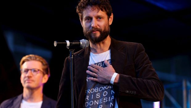 """It's just so unreal,"" Ben Quilty said of the degree awarded to Sukumaran."