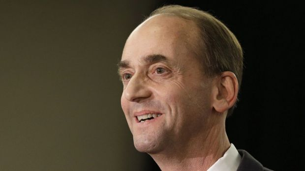 Missouri Republican Auditor Tom Schweich announces his candidacy for governor in St. Louis on January 28. Schweich, 54, ...