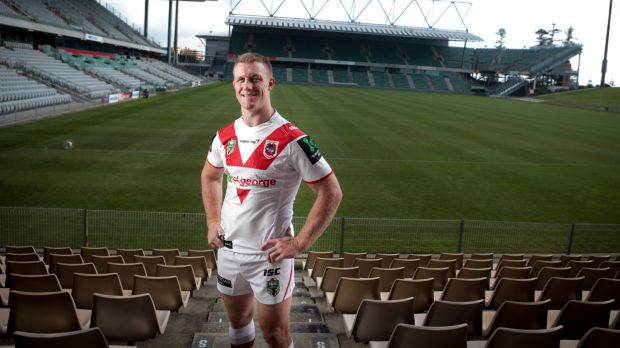 Local boy: Ben Creagh wants to extend his time with the Dragons.