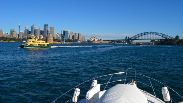 Contaminated: Sydney Harbour and other waterways are polluted by plastic microbeads from cosmetic products.