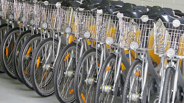 Brisbane City Council's CityCycle fleet.