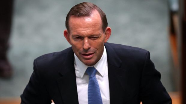 Prime Minister Tony Abbott in Parliament on Monday.