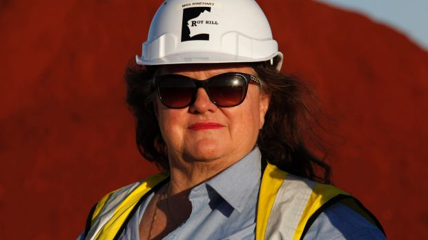Analysts say costs of production at Gina Rinehart's Roy Hill will likely be comparable with Fortescue's when first ore ...