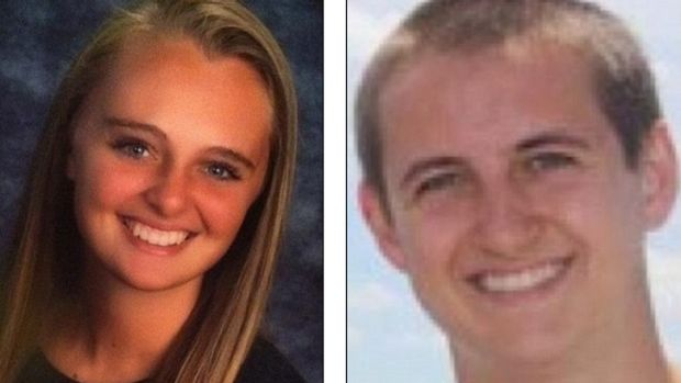 Michelle Carter and her now deceased boyfriend Conrad Roy.