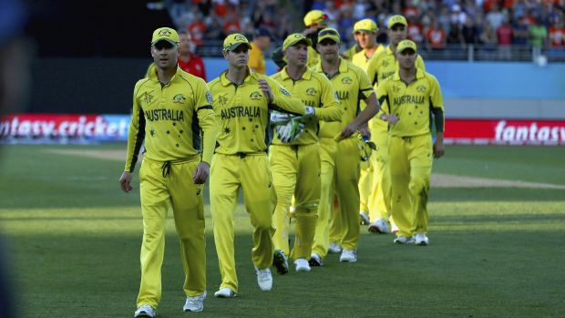 Gut feeling: Brad Hogg senses the Aussies won't make the World Cup final.