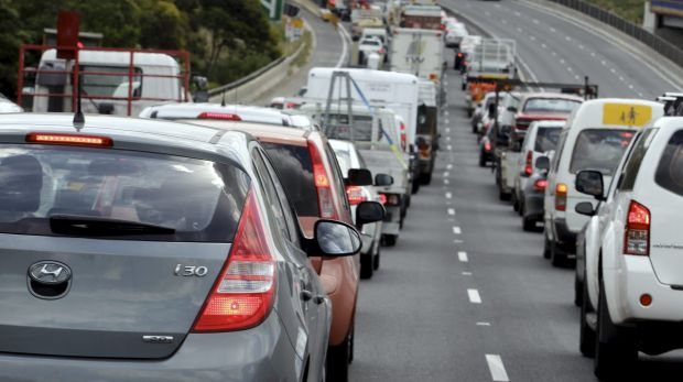 A crash on the Captain Cook Bridge caused delays on the Pacific Motorway.