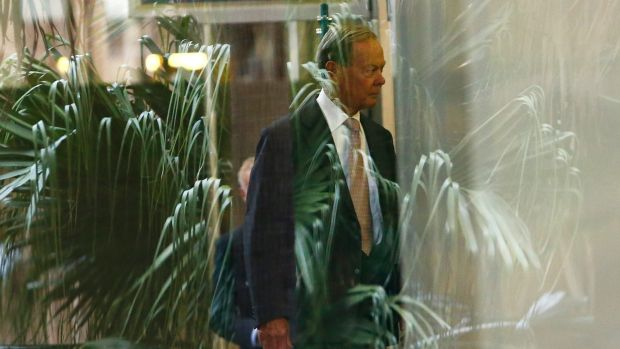 Former Knox Grammer headmaster Dr Ian Paterson arrives to the Royal Commission into Institutional Responses to Child ...