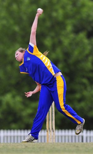 ACT Meteors bowler Sam Bates has been picked in the Shooting Stars team to tour Dubai.