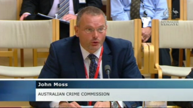 """Mums and dads"" are using digital currencies to buy drugs, according to Dr John Moss of the Australian Crime Commission."