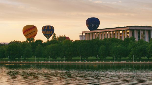 The Canberra Balloon Festival kicks off bright and early Saturday morning.