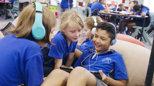 """Seven Hills North Public School is a  """"happy, caring environment"""" according to the principal Kate Pugh."""