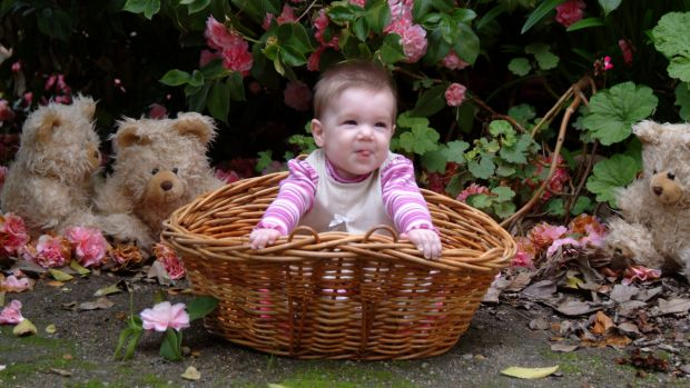 Baby Charlotte Keen who died in 2004.