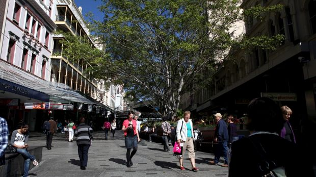 Fifty-eight per cent agreed that the Queen Street Mall was safe after dark.