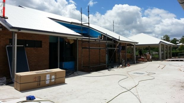 Assisted living accomodation being built in Rockhampton.