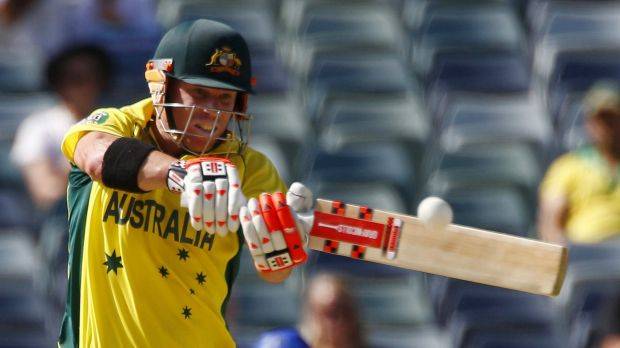 """DAVID WARNER: """"When the ball is swinging and you've got Brendon McCullum going off (at) the top of the order in NZ, they ..."""